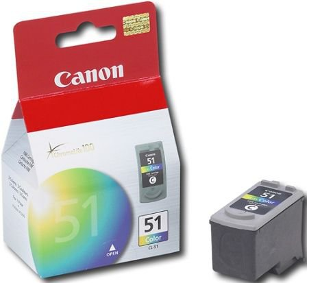 Έγχρωμο Μελάνι CANON CL-51 iP2200 Colour High Yield