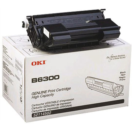 Toner Drum Okipage B6300  BLACK OKI B 6300 09004079 17000pages