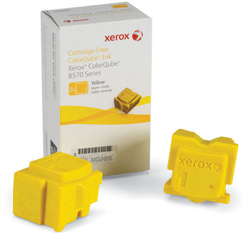 XEROX Colorstix Yellow 2x2.2K ColorQube 8570 108R00933
