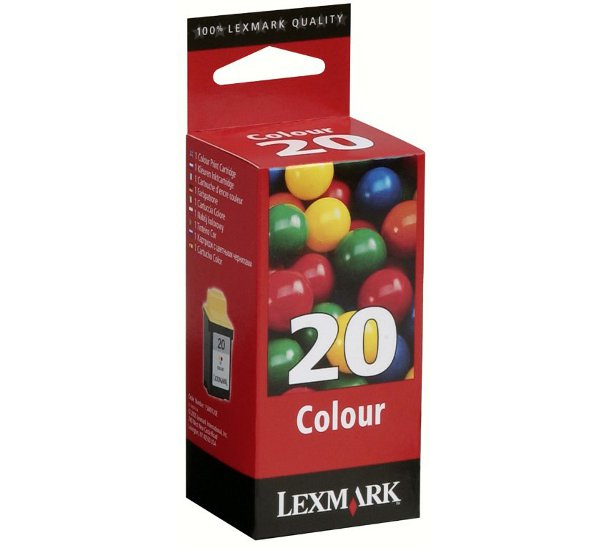 Μελάνι  LEXMARK 15M0120 15MX120E CARTRIDGE COLOR No20