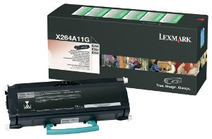Toner Lexmark Black X264A11 X264/363/364 X264 3500p High