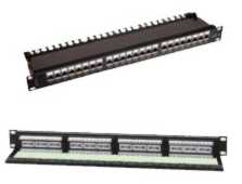 "Patch Panel Premium Line 24-port κατανεμητής 19"" για Rack Cat5e"