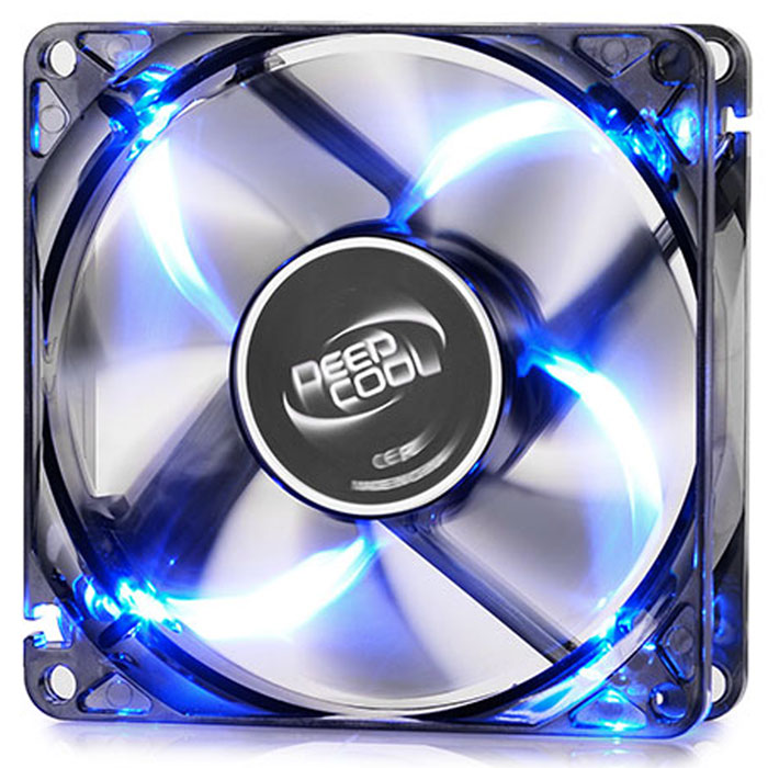 Ανεμιστήρας Cooler FAN 80x80x25 DEEPCOOL WINDBLADE 80 Blue