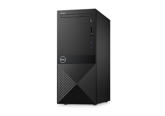 Dell PC Vostro 3670 MT Intel i3-8100/4Gb/1Tb/Win10 Pro