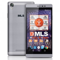 "Smartphone MLS Energy 5"" 16GB/3GB Grey Dual Sim 4G"