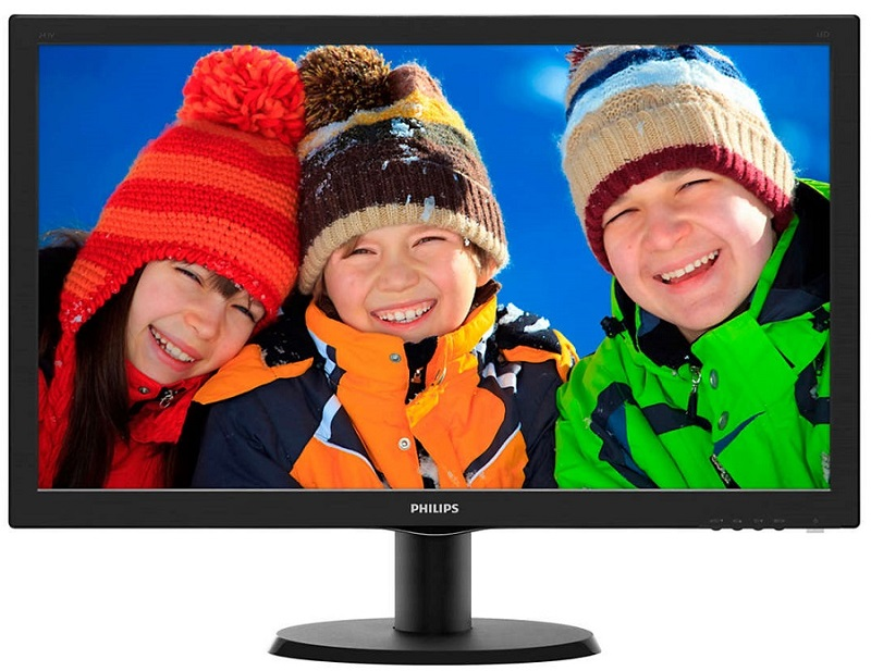 "PHILIPS 24"" TFT 243V7QDAB FHD LCD IPS με Ηχεία"