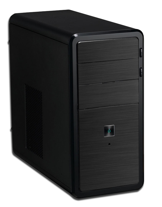 Κουτί Η/Υ LP Case LP-220106 Mini ATX Black/Silver