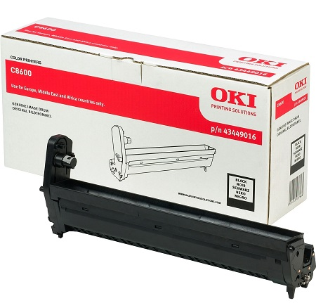 Drum Laser Oki C86/88 43449016 Black 20K pages