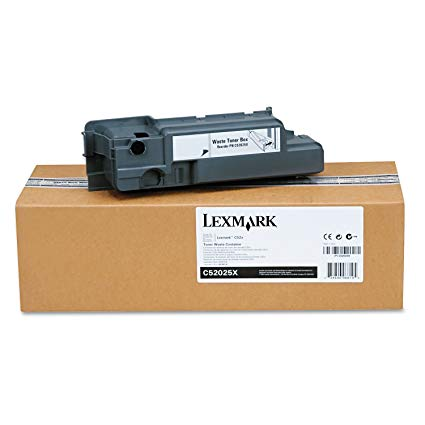 Lexmark Waste Toner Container Bottle C52025X C524/C522/C530/C532