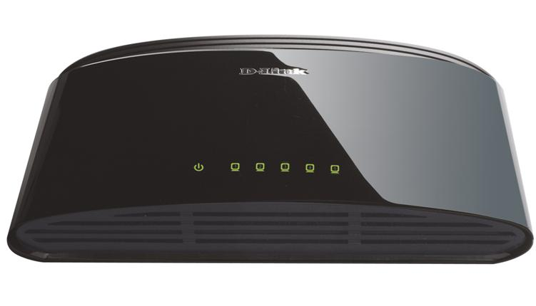 D-Link 5 port Switch 10/100 Mbit DES-1005D