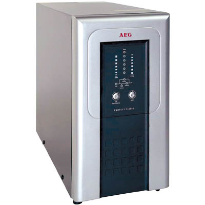 AEG UPS 3000VA Protect C Online Single Conversion 2100W AVR