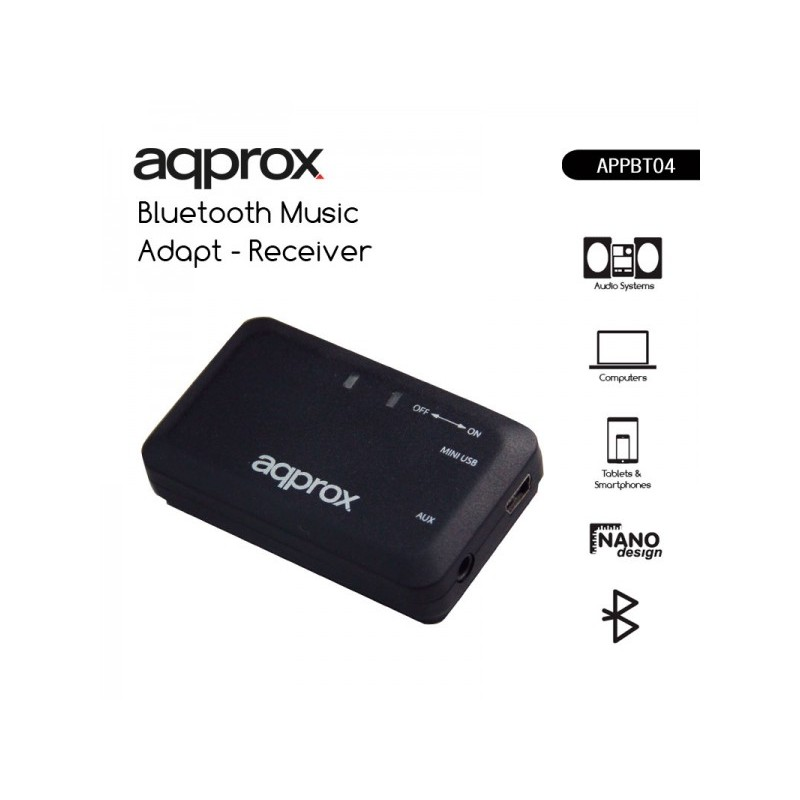 APPROX bluetooth music adapter - receiver