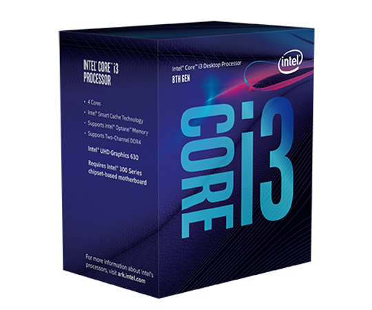 INTEL CORE i3-8350K 4,00Ghz/8MB/s1151/91W BX80684I38350K