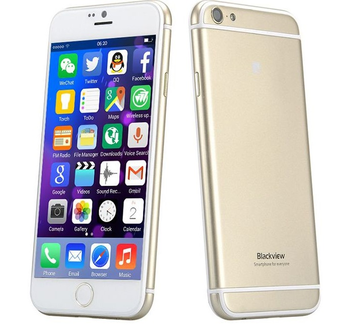 "Κινητό Τηλέφωνο BlackView 4,7"" Iphone Like Quad 1Gb/8Gb-GOLD"