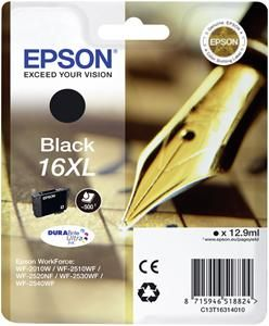 Μελάνι Μαύρο Epson T163140 XL Black with pigment ink