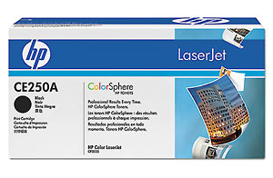 Toner HP LaserJet CE250A Black CP3525 Print Cartridge CM3530 5Kp