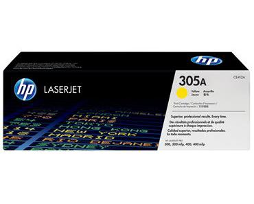 Toner HP 305A LaserJet Pro Color M451/M351/M475/M375mfp Yellow
