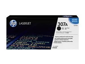 Toner HP LaserJet CP5225 HP 307A Black Cartridge 7k Pages