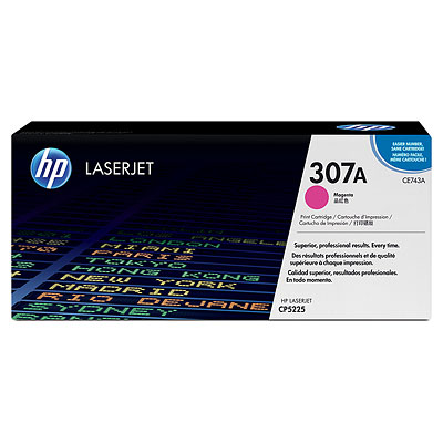 Toner HP LaserJet CP5225 HP 307A Magenta Cartridge 7,3k Pages