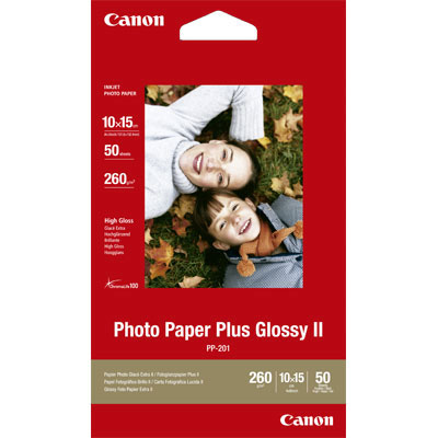 Canon PP-201 Photo Paper Plus Gloss PP-201 A6 50σελ 10x15