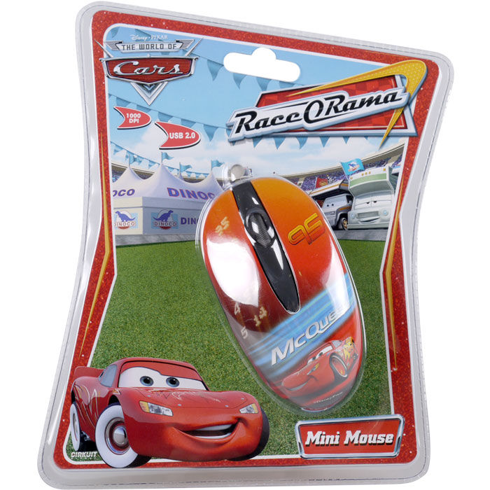 Disney Optical Mouse Cars Mc Queen