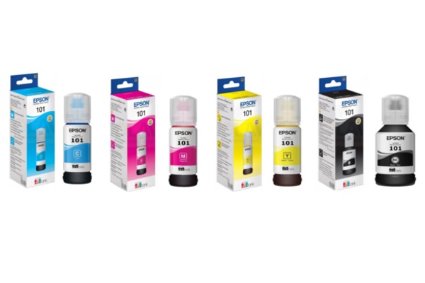 Μελάνι Epson Ink Dye No101 ITS. Yellow C13T03V44A 70ml 6500p