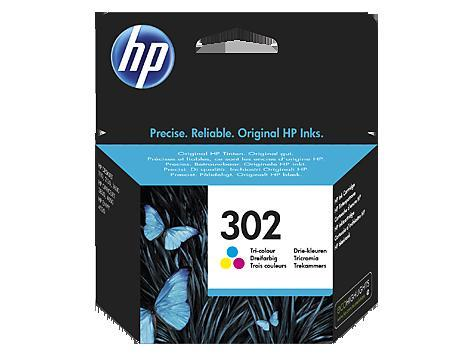 Εγχρωμο Μελάνι HP No302 Color F6U65AE Deskjet 2130 190p