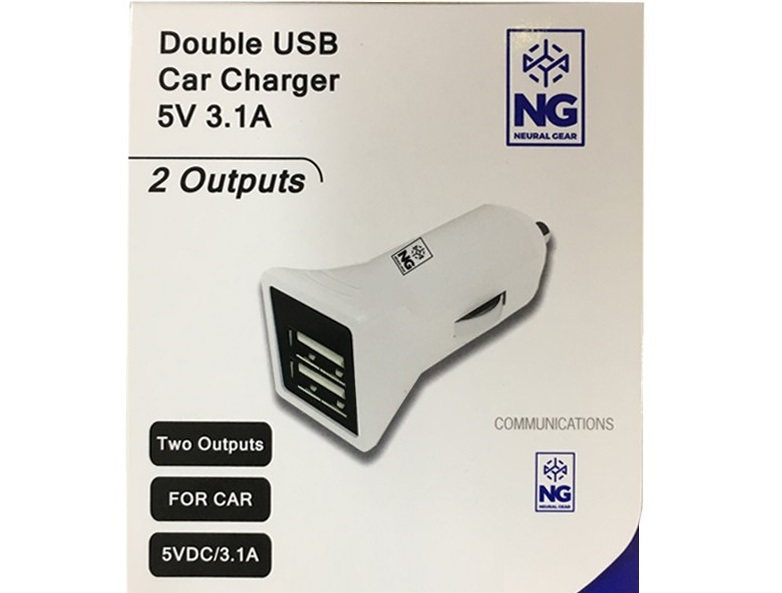 HOCO Z14 SINGLE PORT WITH LIGHTNING CABLE CAR CHARGER