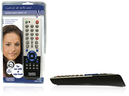 SWEEX/PHILIPS UNIVERSAL REMOTE CONTROL 4 IN 1
