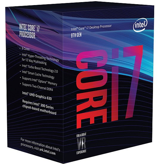 INTEL CORE  i7-9700 3,00Ghz/12MB/s1151/65W BX80684I79700