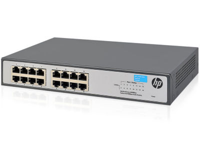 HP Switch OfficeConnect 1420-16G 16Port 10/100/1000 JH016A