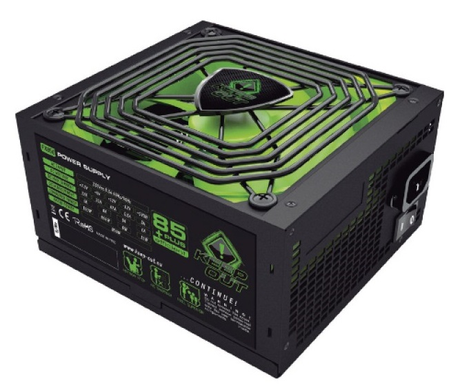 Τροφοδοτικό 800W 14cm ATX Keep Out FX700 Gaming 85+plus