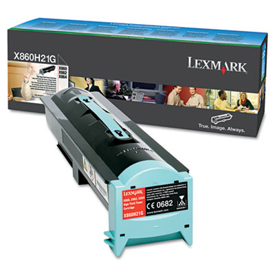 Toner Lexmark Black X860H21G X860/X862/X864 35.000pages