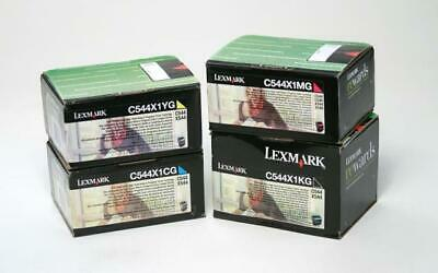 Toner LEXMARK for C544/X544 YELLOW C544X1YG 4000pages