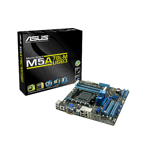 Μητρική Asus M5A78L-M LX AMD AM3+ 4DDR3/SATA3/Parallel