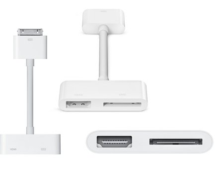 Apple Digital AV Adapter HDMI for iPhone/ipad/ipod MD098ZM/A