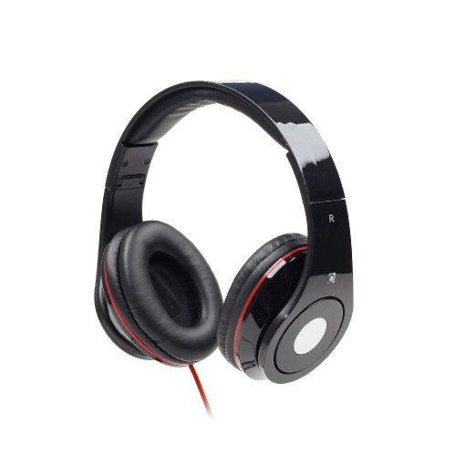 GEMBIRD Folding stereo headphones Detroit Black