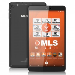 "Tablet MLS iQtab Soul 8"" IPS Quad 1G/8GB/WiFi/Maic/Android 5.1"