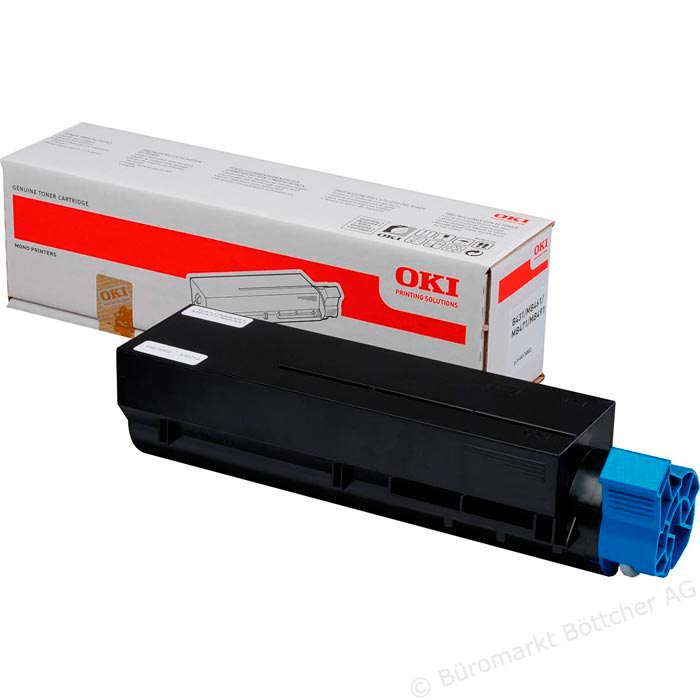 Toner OKI B431/MB471 Black Okipage 7000pages 44574802