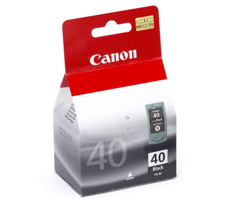 Μελάνι Μαύρο CANON PG-40 Black PIXMA 16ml / 195p No40