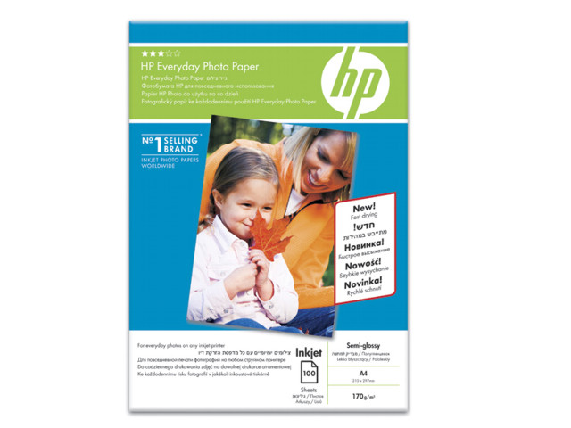 HP Everyday Semi-glossy Photo Paper A6 170gr 100 φύλλα SD679A