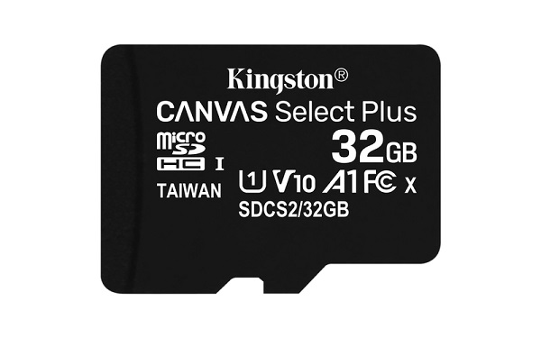 KINGSTON Micro SD 32GB SDCS2/32GBSP Canvas Select Plus