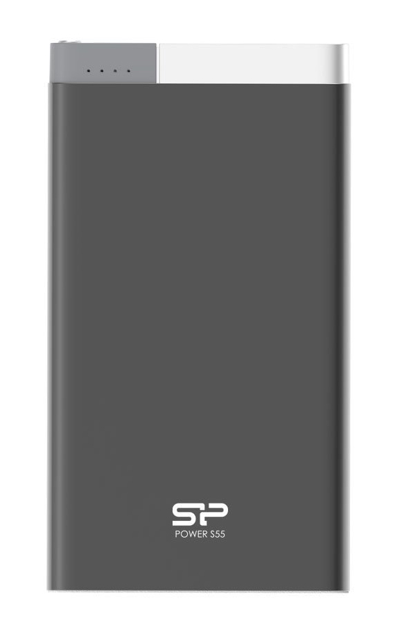 SILICON POWER Power Bank S55 5000mAh USB Micro/Lightning Input