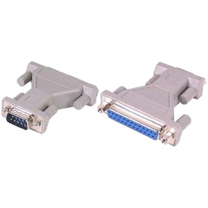 Adaptor Gender Changer Serial 25pin Female / 9pin Male (F/M)
