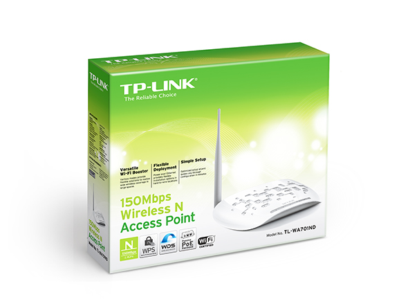 TP-LINK TL-WA701ND Wireless Access Point 150Mbps