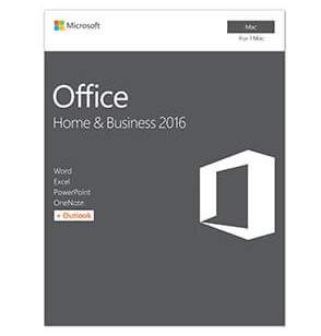 Microsoft Office Home & Business Greek 2016 (Word+Ex+PP+Out) MAC