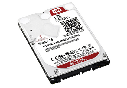 Σκληρός Δίσκος Western Digital Red 1TB WD10JFX / 2,5""