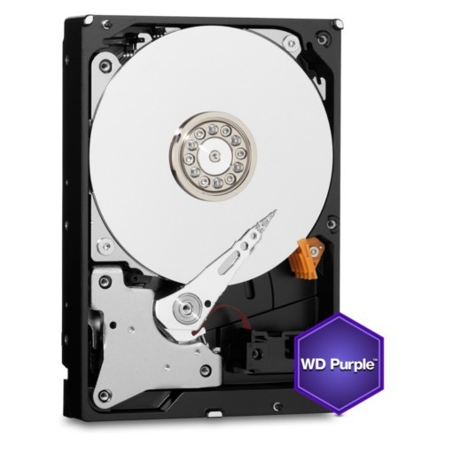 Σκληρός Δίσκος Western Digital Purple 1TB WD10PURZ 64MB