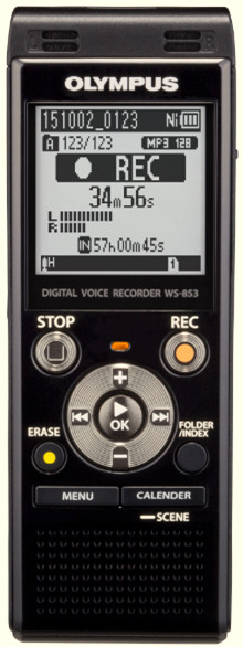 Olympus WS-853 Digital Voice Recorder+Music Player 8Gb + SD