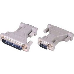 Adaptor Gender Changer Serial 25pin Male / 9pin Male (M/M)